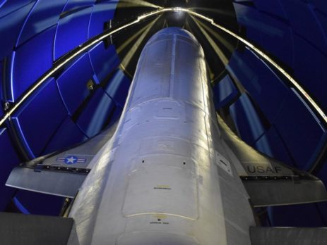 Encapsulated X-37B Orbital Test Vehicle For U.S. Space Force-7 Mission Launched 17 May 20 (COURTESY OF BOEING)